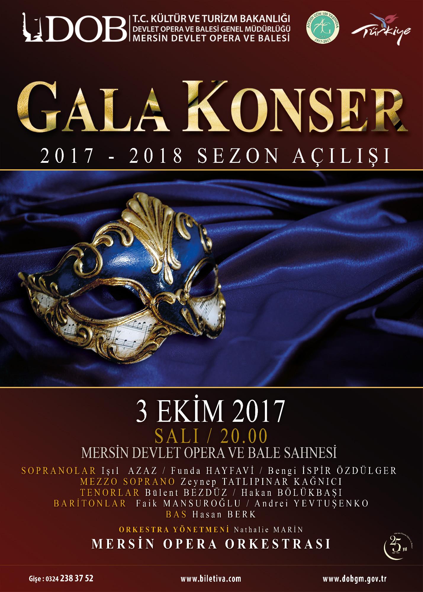 Gala Konser 2017-2018 Sezon Açılışı