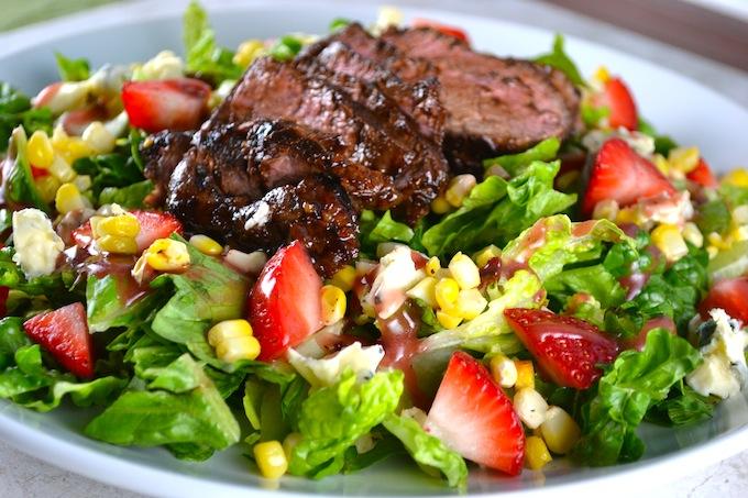 Salad Beef